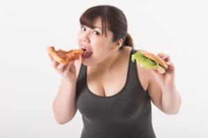 大食漢の女性